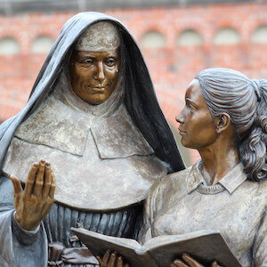 Mercy Sisters Foundress Sculpture